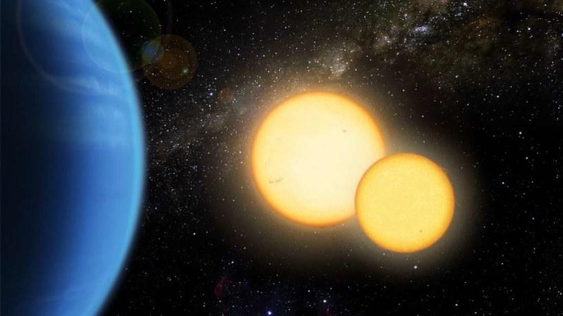 Wizja artystyczna układu Kepler-35 /NASA