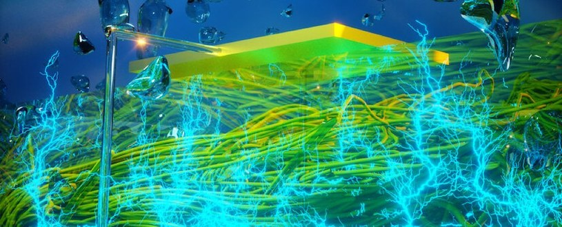 Wizja artystyczna urządzenia do generowania prądu z powietrza /materiały prasowe