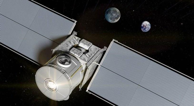 Wizja małego modułu mieszkalnego w pobliżu Księżyca /materiały prasowe