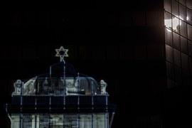 Wizualizacja cyfrowa Wielkiej Synagogi w Warszawie