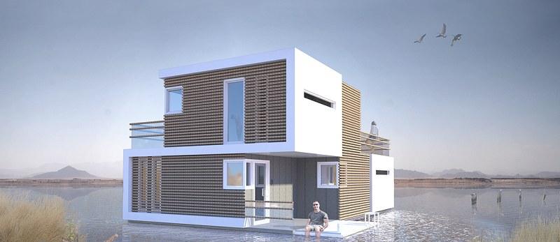 Wizualizacja domu /studio-oba.nl /Internet