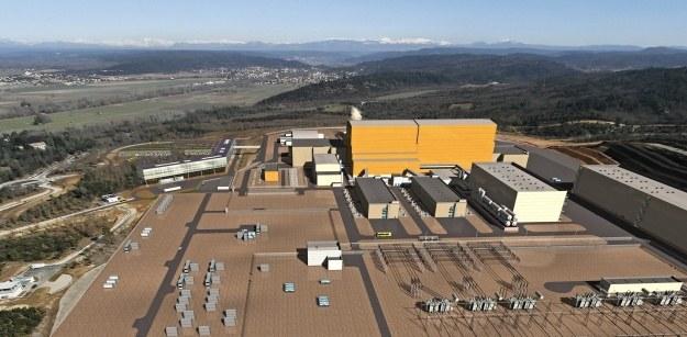Wizualizacja francuskiego kompleksu.   Fot. ITER /materiały prasowe
