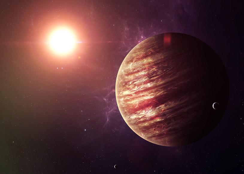Wizualizacja Jowisza /123RF/PICSEL