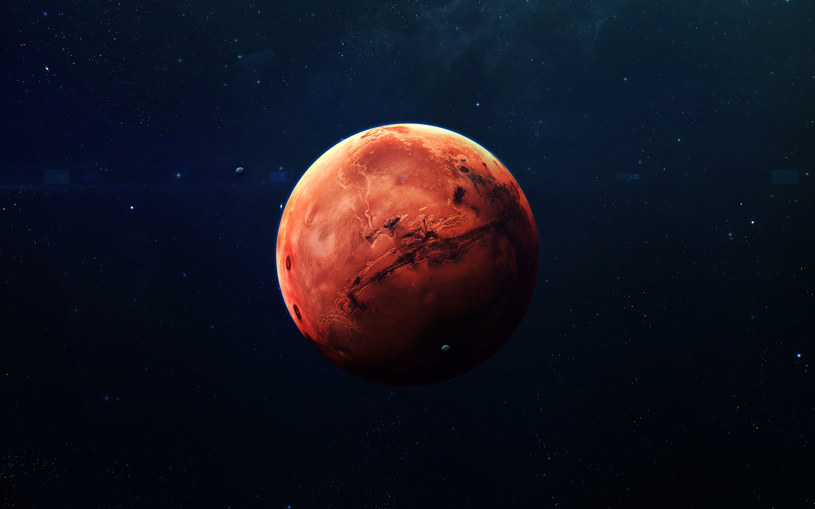 Wizualizacja Marsa /NASA