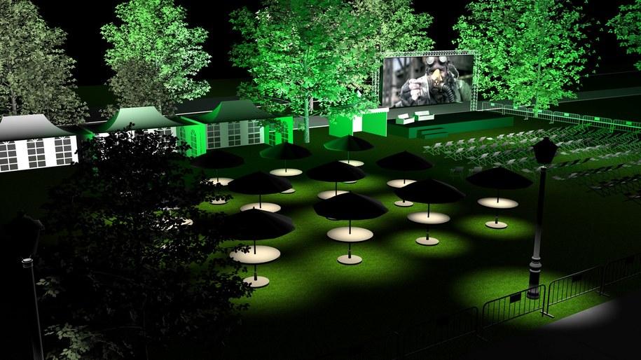 Wizualizacja miasteczka /Fundacja Green Festival /