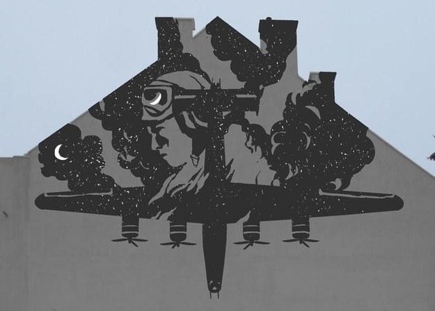 Wizualizacja muralu Liberator /Materiały prasowe