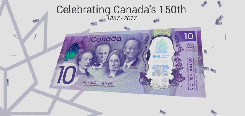 Wizualizacja nowego banknotu, pojawia się po wprowadzeniu odpowiedniego kodu /materiały prasowe