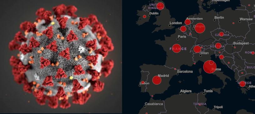Wizualizacja nowego koronawirusa i mapa  Global Cases by Johns Hopkins CSSE /materiały prasowe