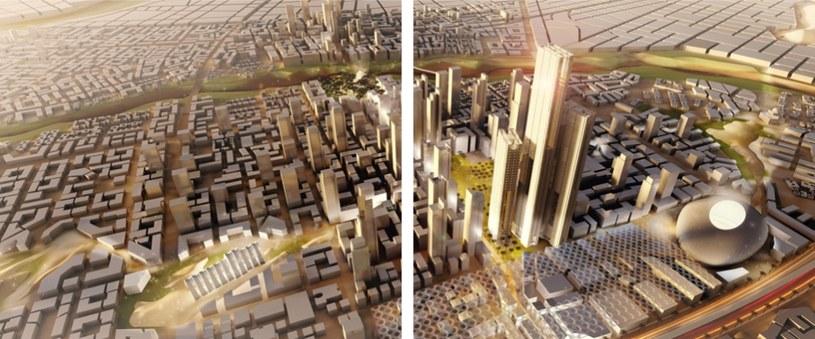 Wizualizacja nowej stolicy Egiptu na stronie thecapitalcairo.com /