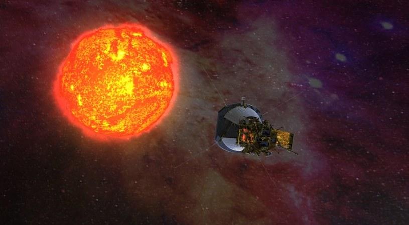 Wizualizacja Parker Solar Probe /materiały prasowe