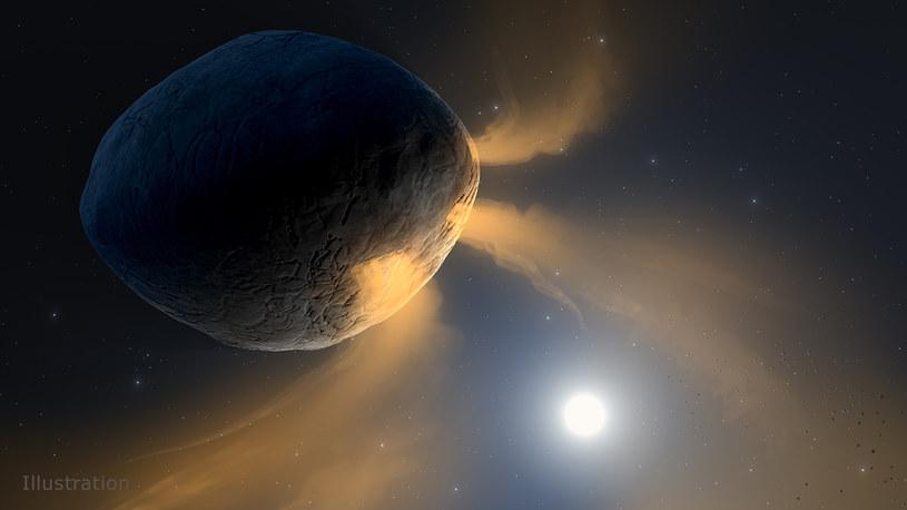 Wizualizacja Phaethona /NASA