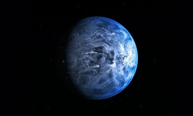 Wizualizacja planety HD 189733b /materiały prasowe
