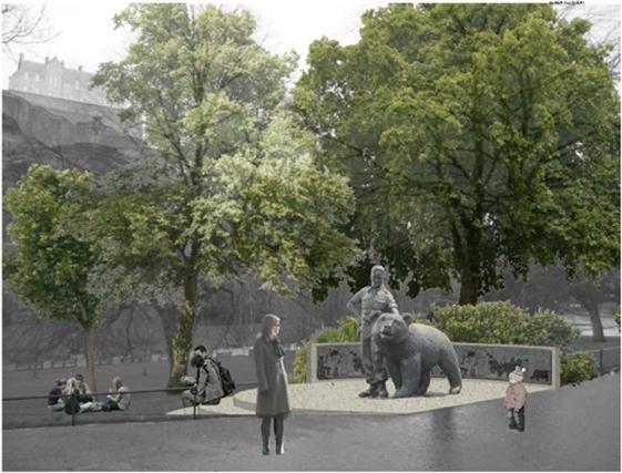Wizualizacja pomnika /materiały prasowe