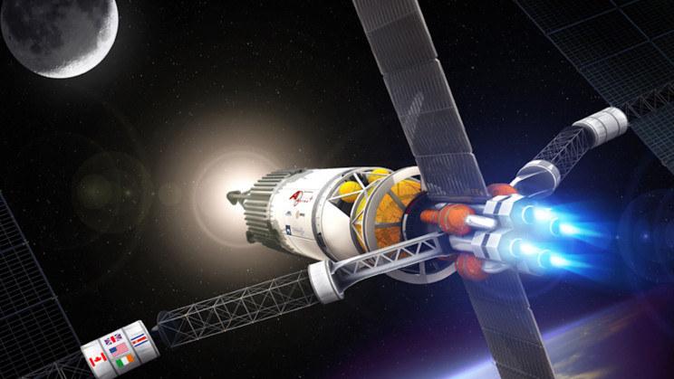 Wizualizacja rakiety Vasimr /materiały prasowe