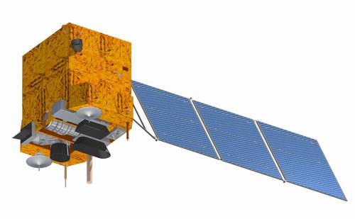 Wizualizacja satelity CBERS-3 /materiały prasowe