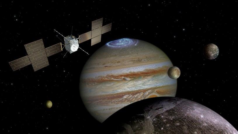 Wizualizacja satelity JUICE /materiały prasowe