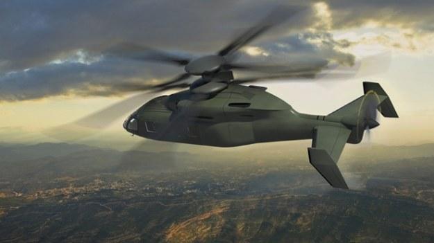 Wizualizacja śmigłowca duetu Boeing i Sikorsky /materiały prasowe