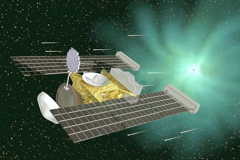 Wizualizacja sondy Stardust /materiały prasowe