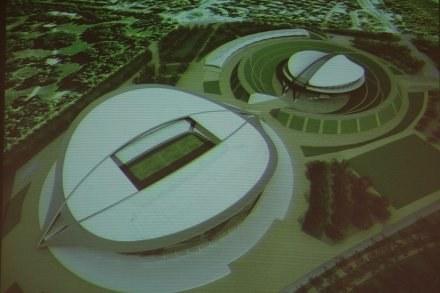 Wizualizacja Stadionu Narodowego, fot. Maciej Śmiarowski /Agencja Przegląd Sportowy