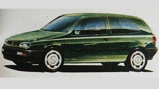 Wizualizacja trzeciej generacji VW Golfa. /Motor