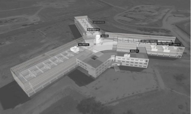 Wizualizacja więzienia Sajdnaja /Amnesty International /