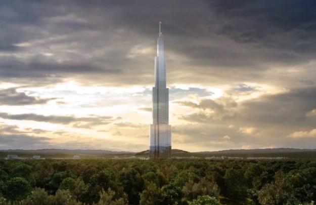 Wizualizacja wieżowca /materiały prasowe