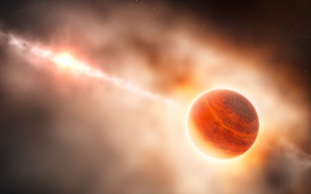Wizualizacja zjawiska. Fot. ESO /materiały prasowe