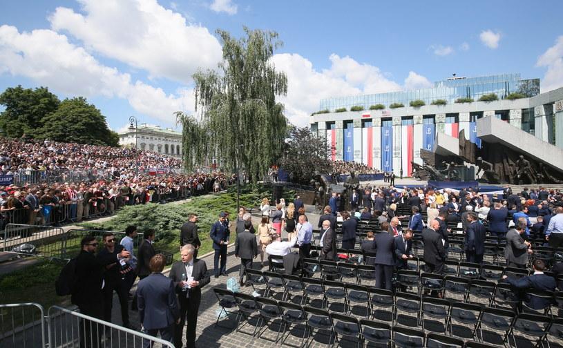 Wizyta Donalda Trumpa w Warszawie /Paweł Supernak /PAP