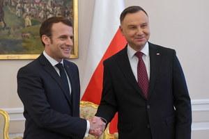 Wizyta Emmanuela Macrona w Polsce. Podpisano ważną deklarację