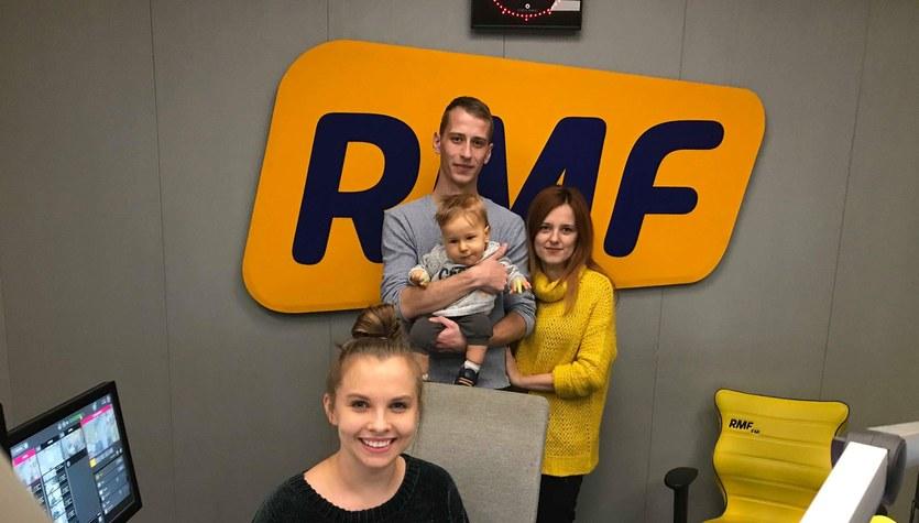 Wizyta Kacperka w Radiu RMF FM i RMF MAXXX
