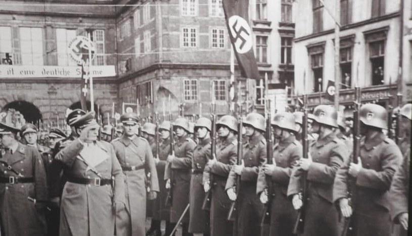 Wizyta premiera Prus, Hermana Goeringa, w Wolnym Mieście Gdańsku /domena publiczna