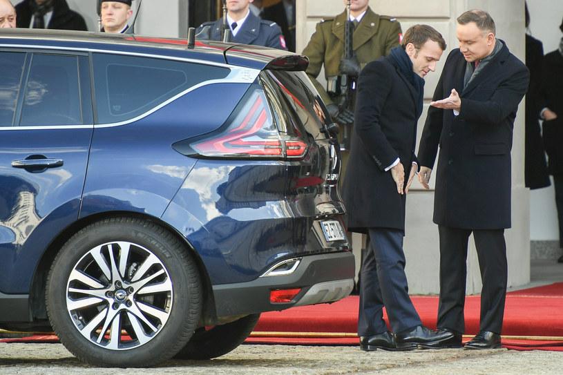 Wizyta prezydenta Francji Emmanuela Macrona w Polsce /Rafal Oleksiewicz/REPORTER /
