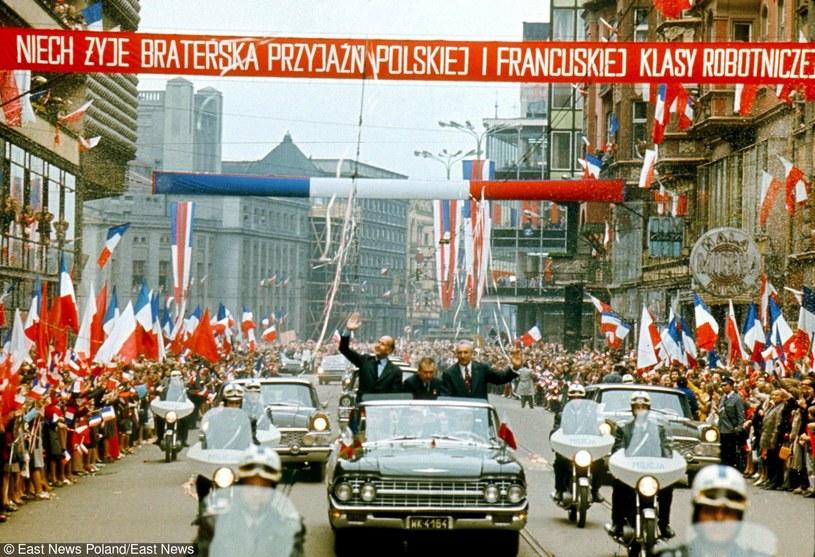 Wizyta prezydenta Francji, na zdjęciu z Edwardem Gierkiem /East News