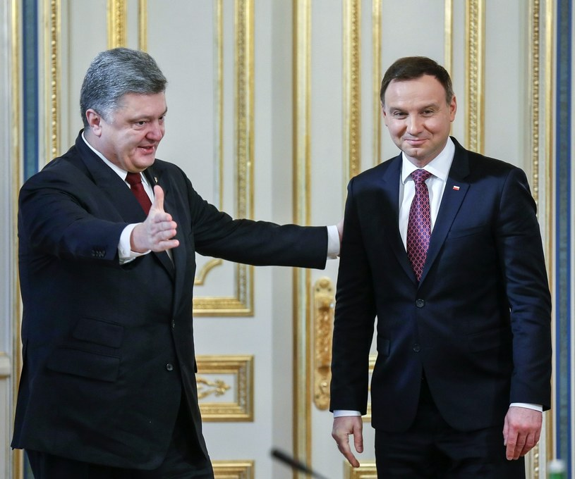 Wizyta prezydenta Polski na Ukrainie została pozytywnie oceniona w tamtejszych mediach /Paweł Supernak /PAP