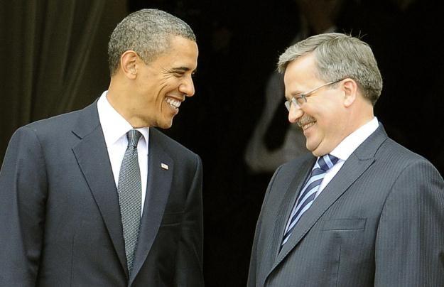 Wizyta prezydenta USA Baracka Obamy w Polsce /AFP
