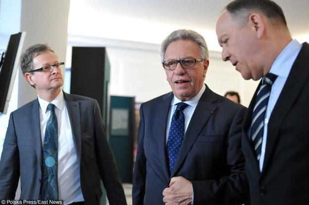 Wizyta przedstawicieli Komisji Weneckiej w Polsce. /Piotr Smoliński /East News