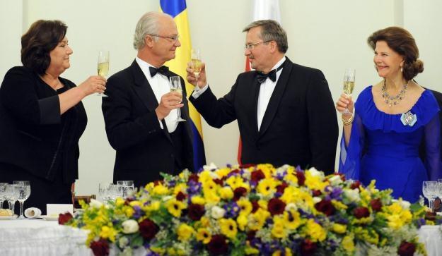 Wizyta szwedzkiej pary królewskiej /AFP