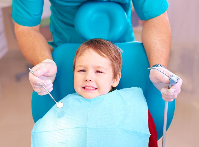 Wizyta u dentysty nie musi dziecku źle się kojarzyć /123RF/PICSEL