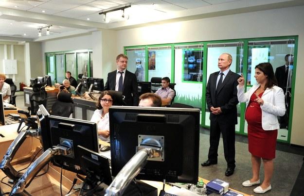 Wizyta Władimira Putina w siedzibie telewizji Russia Today (zdj. ilustracyjne) //ITAR-TASS /PAP