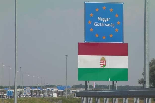 Wjeżdżam na Węgry... /INTERIA.PL