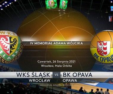 WKS Śląsk Wrocław - BK Opava 84-66. Skrót meczu (POLSAT SPORT). Wideo