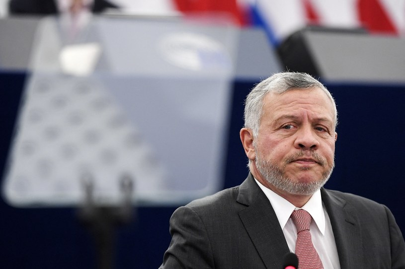 Władca Jordanii Abdullah II /AFP