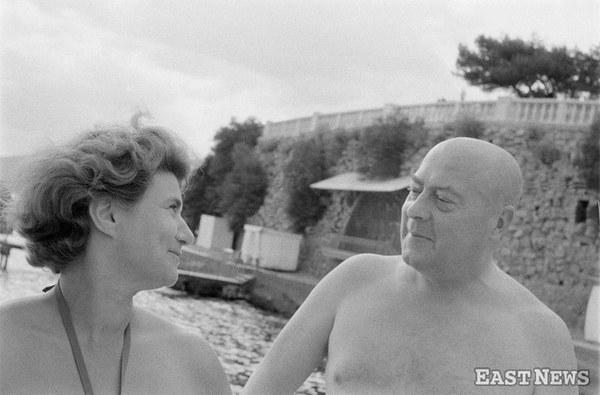 Józef Cyrankiewicz i Maria Rutkiewicz