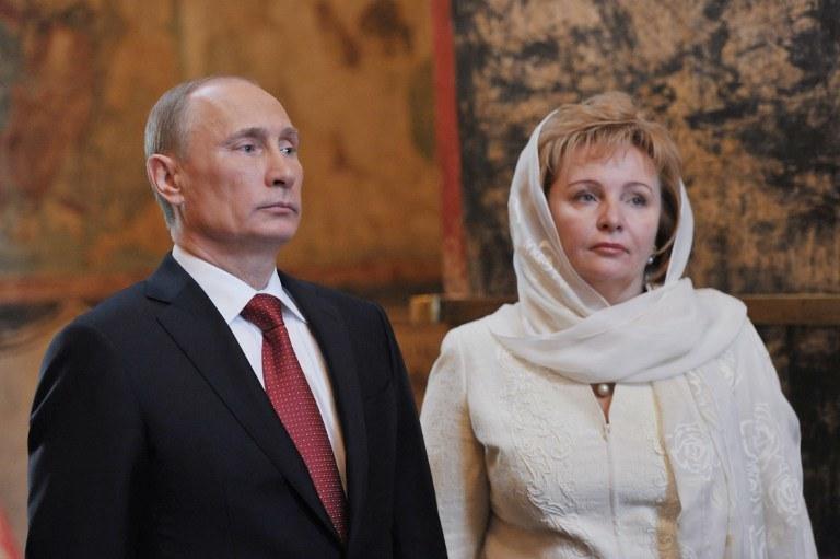 Władimir i Ludmiła w 2012 roku /AFP