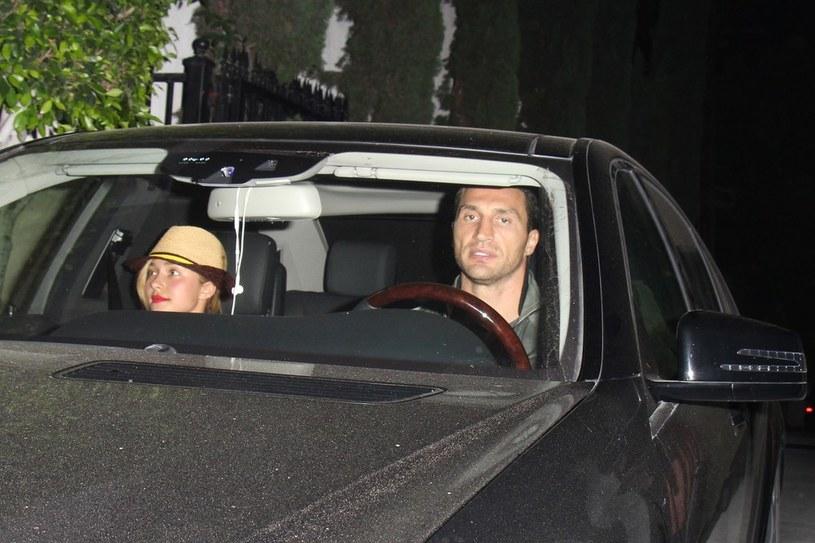 Władimir Kliczko i Hayden Panettiere /- /East News