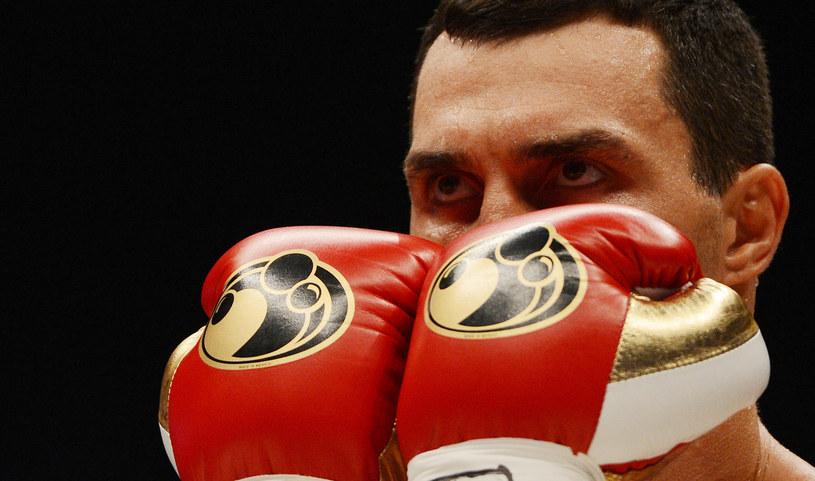 Władimir Kliczko, ukraiński mistrz wagi ciężkiej /AFP