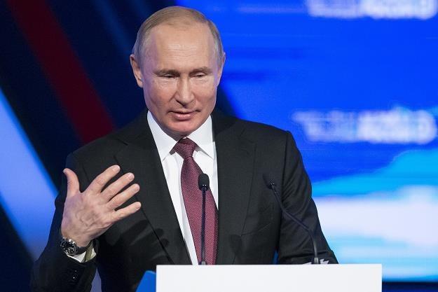 Władimir Putin dzisiaj w Moskwie /PAP