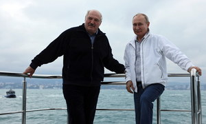 Władimir Putin i Alaksandr Łukaszenka rozmawiali o incydencie z samolotem Ryanair