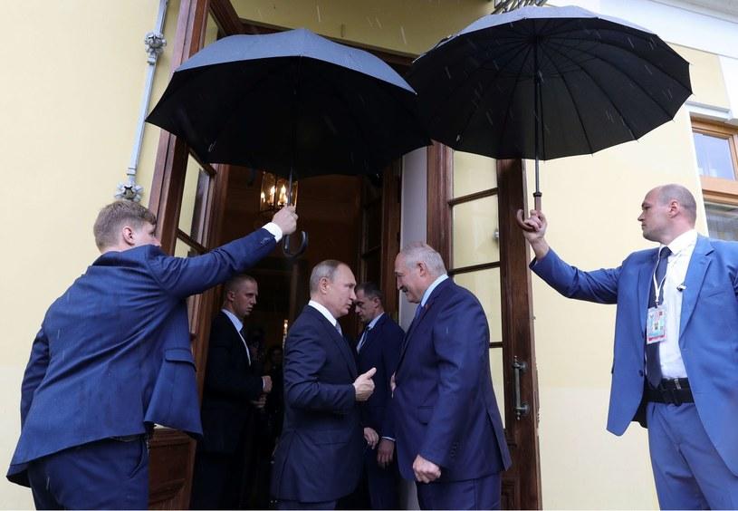 Władimir Putin i Alaksandr Łukaszenka, zdjęcie z lipca 2019 /AFP