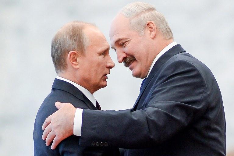 Władimir Putin i Alaksandr Łukaszenka /AFP